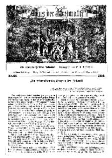 Aus der Heimath. Ein naturwissenschaftliches Volksblatt, 1859, No. 26.