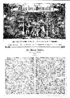 Aus der Heimath. Ein naturwissenschaftliches Volksblatt, 1859, No. 28.