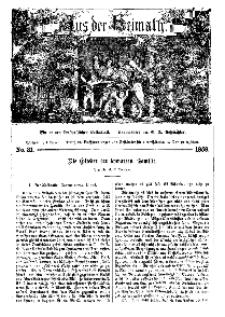 Aus der Heimath. Ein naturwissenschaftliches Volksblatt, 1859, No. 31.