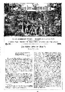 Aus der Heimath. Ein naturwissenschaftliches Volksblatt, 1859, No. 34.