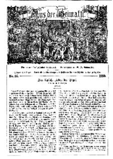 Aus der Heimath. Ein naturwissenschaftliches Volksblatt, 1859, No. 35.
