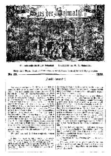 Aus der Heimath. Ein naturwissenschaftliches Volksblatt, 1859, No. 38.