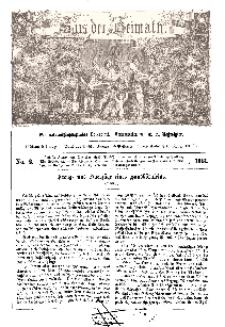 Aus der Heimath. Ein naturwissenschaftliches Volksblatt, 1861, No. 2.