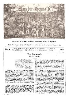 Aus der Heimath. Ein naturwissenschaftliches Volksblatt, 1861, No. 4.