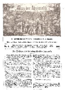 Aus der Heimath. Ein naturwissenschaftliches Volksblatt, 1861, No. 6.