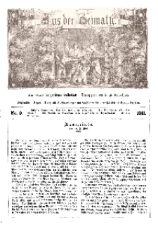 Aus der Heimath. Ein naturwissenschaftliches Volksblatt, 1861, No. 9.