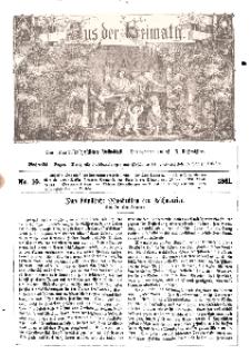 Aus der Heimath. Ein naturwissenschaftliches Volksblatt, 1861, No. 10.