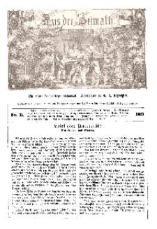 Aus der Heimath. Ein naturwissenschaftliches Volksblatt, 1861, No. 11.