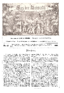 Aus der Heimath. Ein naturwissenschaftliches Volksblatt, 1861, No. 12.