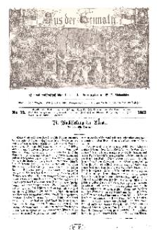 Aus der Heimath. Ein naturwissenschaftliches Volksblatt, 1861, No. 13.