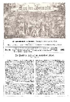 Aus der Heimath. Ein naturwissenschaftliches Volksblatt, 1861, No. 15.