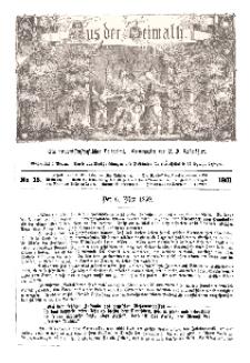 Aus der Heimath. Ein naturwissenschaftliches Volksblatt, 1861, No. 18.