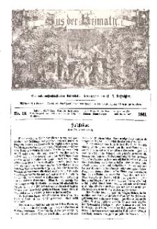 Aus der Heimath. Ein naturwissenschaftliches Volksblatt, 1861, No. 19.