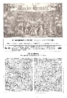 Aus der Heimath. Ein naturwissenschaftliches Volksblatt, 1861, No. 20.