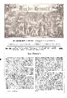 Aus der Heimath. Ein naturwissenschaftliches Volksblatt, 1861, No. 22.