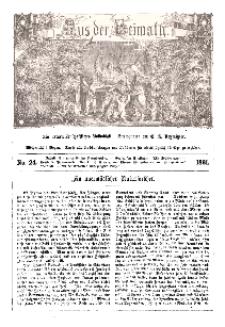 Aus der Heimath. Ein naturwissenschaftliches Volksblatt, 1861, No. 24.
