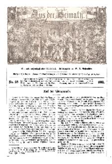Aus der Heimath. Ein naturwissenschaftliches Volksblatt, 1861, No. 25.