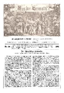 Aus der Heimath. Ein naturwissenschaftliches Volksblatt, 1861, No. 26.