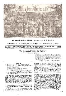 Aus der Heimath. Ein naturwissenschaftliches Volksblatt, 1861, No. 28.