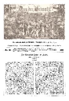 Aus der Heimath. Ein naturwissenschaftliches Volksblatt, 1861, No. 29.