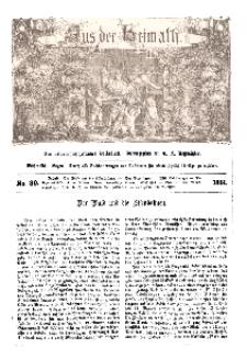 Aus der Heimath. Ein naturwissenschaftliches Volksblatt, 1861, No. 30.