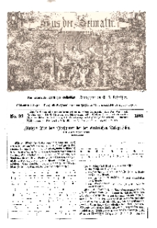 Aus der Heimath. Ein naturwissenschaftliches Volksblatt, 1861, No. 32.