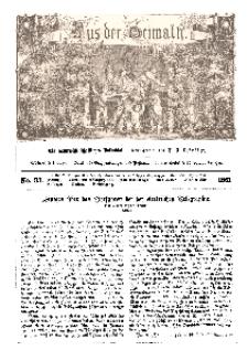 Aus der Heimath. Ein naturwissenschaftliches Volksblatt, 1861, No. 33.