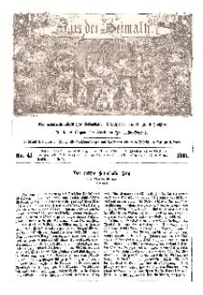 Aus der Heimath. Ein naturwissenschaftliches Volksblatt, 1861, No. 41.