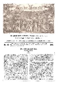 Aus der Heimath. Ein naturwissenschaftliches Volksblatt, 1861, No. 42.