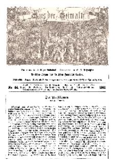 Aus der Heimath. Ein naturwissenschaftliches Volksblatt, 1861, No. 44.