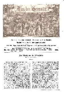 Aus der Heimath. Ein naturwissenschaftliches Volksblatt, 1861, No. 49.