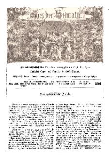 Aus der Heimath. Ein naturwissenschaftliches Volksblatt, 1861, No. 50.