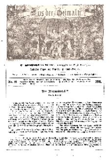 Aus der Heimath. Ein naturwissenschaftliches Volksblatt, 1861, No. 51.