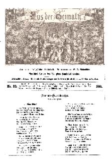 Aus der Heimath. Ein naturwissenschaftliches Volksblatt, 1861, No. 52.