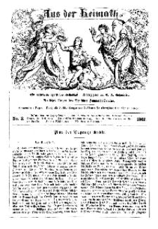 Aus der Heimath. Ein naturwissenschaftliches Volksblatt, 1862, No. 3.
