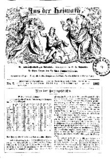 Aus der Heimath. Ein naturwissenschaftliches Volksblatt, 1862, No. 7.