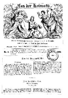 Aus der Heimath. Ein naturwissenschaftliches Volksblatt, 1862, No. 9.
