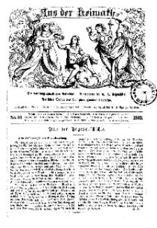 Aus der Heimath. Ein naturwissenschaftliches Volksblatt, 1862, No. 10.