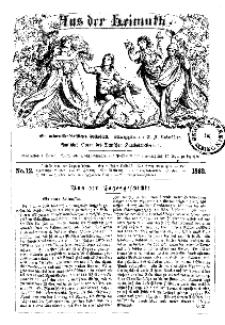 Aus der Heimath. Ein naturwissenschaftliches Volksblatt, 1862, No. 12.