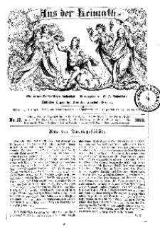 Aus der Heimath. Ein naturwissenschaftliches Volksblatt, 1862, No. 13.