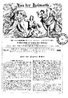 Aus der Heimath. Ein naturwissenschaftliches Volksblatt, 1862, No. 14.