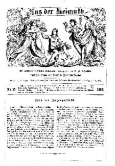Aus der Heimath. Ein naturwissenschaftliches Volksblatt, 1862, No. 15.