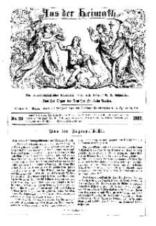 Aus der Heimath. Ein naturwissenschaftliches Volksblatt, 1862, No. 26.