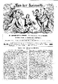 Aus der Heimath. Ein naturwissenschaftliches Volksblatt, 1862, No. 32.
