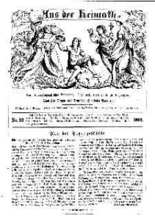 Aus der Heimath. Ein naturwissenschaftliches Volksblatt, 1862, No. 33.