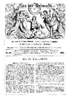 Aus der Heimath. Ein naturwissenschaftliches Volksblatt, 1862, No. 48.