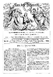 Aus der Heimath. Ein naturwissenschaftliches Volksblatt, 1862, No. 49.