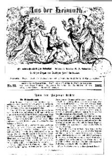 Aus der Heimath. Ein naturwissenschaftliches Volksblatt, 1862, No. 52.