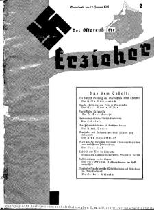Der Ostpreussische Erzieher : das Schullandheim , 1935, H. 2.
