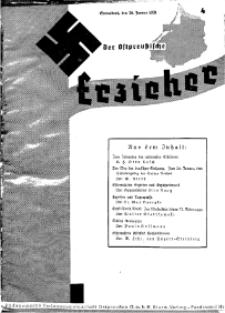 Der Ostpreussische Erzieher : das Schullandheim , 1935, H. 4.